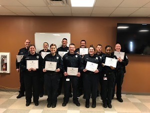 Academy Class 49 with certificates